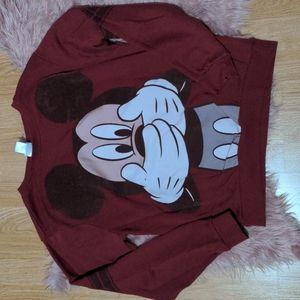 🔥3/30🔥 Disney Mickey Mouse Crewneck